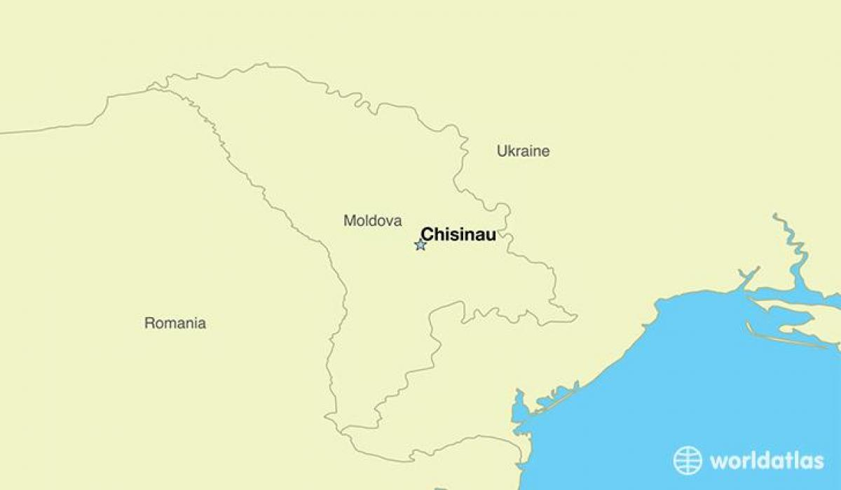 Moldawien Karte.Chisinau Moldawien Karte Karte Von Chisinau Moldau Ost Europa