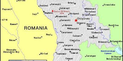Moldawien Karte.Moldawien Karte Karten Moldau Ost Europa Europe
